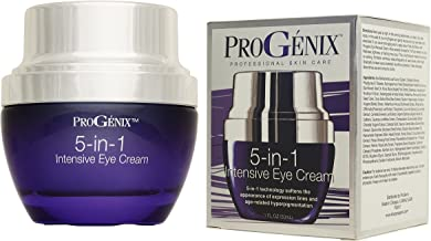 ProGenix 5 in 1 Intensive Eye Cream for Wrinkles, Puffiness, Dark Circles, Sagging, and Expression Lines. 1oz Bottle
