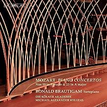 Mozart: Piano Concertos Nos. 19 and 23