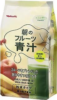 Yakult Asa No Fruit AOJIRU (Ooita Young Barley Grass)   Powder Stick   7g x 15 [Japanese Import]