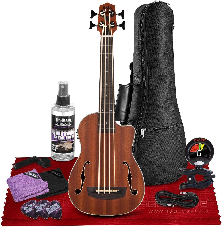 KALA UBASS-JYMN-FS Journeyman Acoustic with New sales UBass F-Hol 4 years warranty Electric