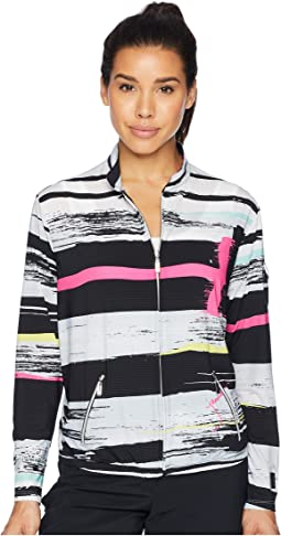 Jamie Sadock Sunsense® Lightweight Artisan Print Jacket with 50 SPF