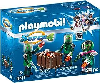PLAYMOBIL-3 Sykronianos Muñecos y Figuras, Multicolor, 7,2 x 18,7 x 14,2 cm 9411