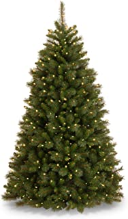6.5' Pre-Lit Rocky Ridge Pine Artificial Christmas Tree - Clear Lights