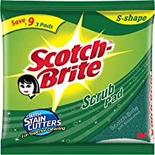 Scotch-Brite Scrub Pad (Large) - Super Saver Set of 3Pcs