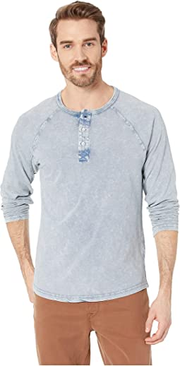 Long Sleeve Henley Tee