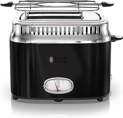 Russell Hobbs TR9150BKR Toaster, 2-Slice, Black