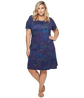 Plus Size Bright Botanical Sadie Dress