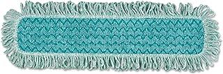 Rubbermaid Commercial HYGEN HYGEN Microfiber Fringed Dust Mop Pad,PAD,DUST,FRINGE,MICROFIBE
