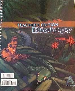 Teacher's Edition Biology (Book A & B)