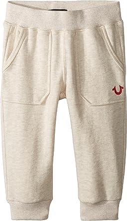 Branded Cropped Sweatpants (Toddler/Little Kids)