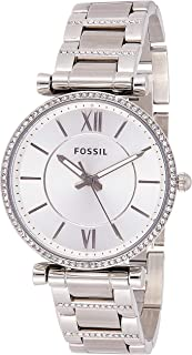 Fossil Womens Quartz Watch, Analog Display and Stainless Steel Strap ES4341