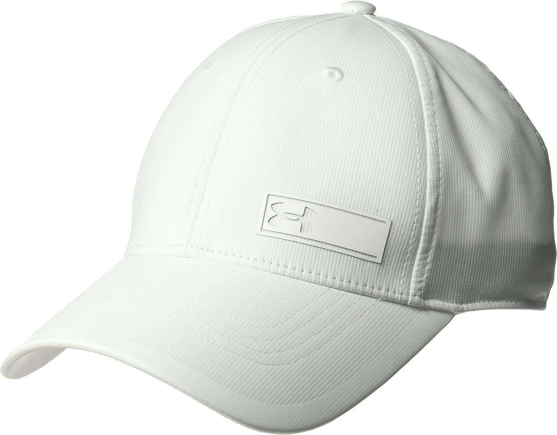 [アンダーアーマー] ランニング 帽子 1300074 メンズ WHT/WHT/WHT 日本 LGXL-(日本サイズL相当)