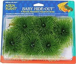 Penn Plax Fish Breeding Grass – Baby Hideout, Safe Hiding for Fry – Decorative Aquarium Grass