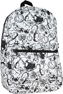 Disney Once Upon A Time All Over Print School Travel Laptop Backpack Bookbag