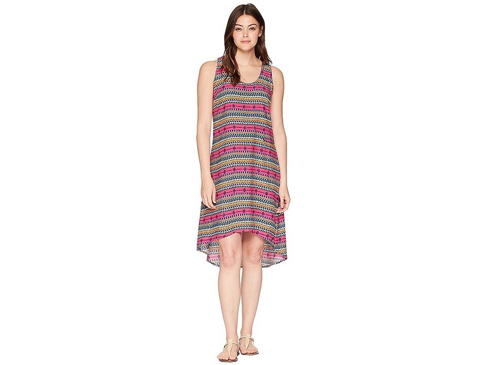 KAVU Jocelyn Dress (Hot Tropic) Women