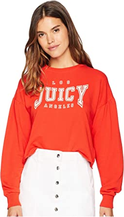Juicy LA Logo Terry Pullover