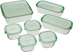 iwaki Heat Resistant Glass, Storage Container, for Packing & Microwaving