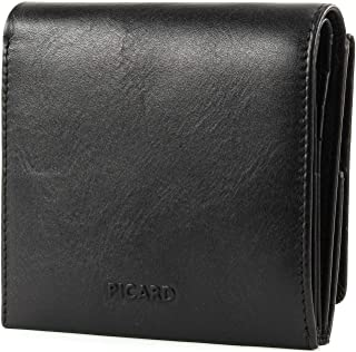 Picard PURE 1 Small Wallet portefeuille BLACK noir NEUF