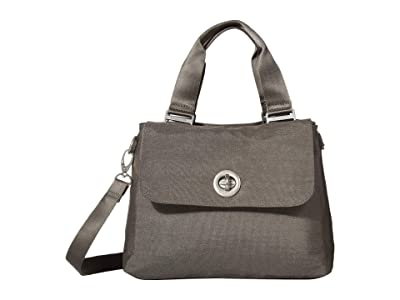 Baggallini International Antwerp Satchel (Sterling Shimmer) Bags