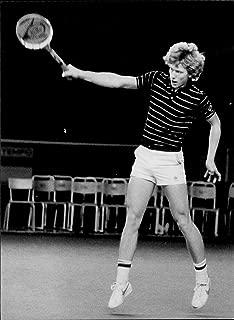 Vintage photo of Tennis player J246;rgen Windahl