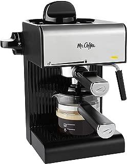 Mr. Coffee BVMC-ECM180 Steam Espresso with Starter Set, Black