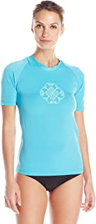 Kanu Surf Women's Marina UPF 50+ Short Sleeved Active Rashguard & Workout Top