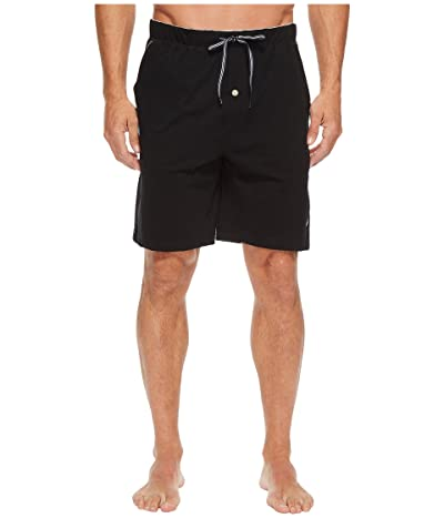 Nautica Knit Sleep Shorts (True Black) Men