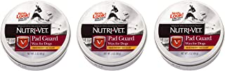 Nutri-Vet 3 Pack of Pad Guard Wax for Dogs, 2 Ounces Each, for Paws