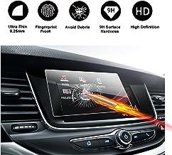 RUIYA Protector de Pantalla de Vidrio Templado para 2017 2018 Opel Crossland X Opel IntelliLink R4.0 Sistema de navegación, Crystal Clear HD Protector de Pantalla[7-Pulgada]