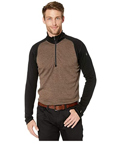 Smartwool NTS Mid 250 Pattern Zip T (Bourbon Tick Stitch) Men