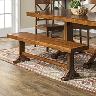 rustic table benches