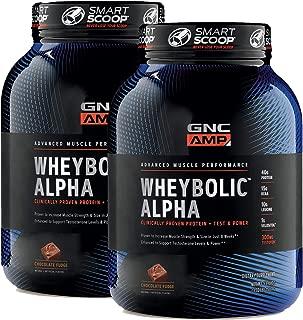 GNC AMP Wheybolic Alpha - Chocolate Fudge - Twin Pack