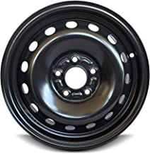 Road Ready Car Wheel For 12-18 Ford Focus 15 Inch 5 Lug Steel Rim Fits R15 Tire - Exact OEM Replacement - Full-Size Spare