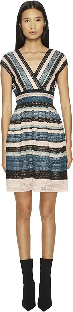 M Missoni Lurex Lace Ribbon Dress