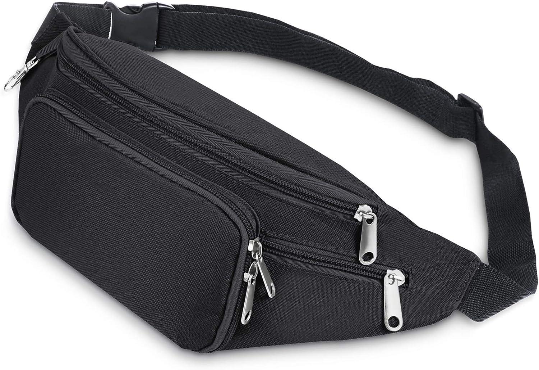 Limited time sale SAVFY Manufacturer regenerated product Fanny Pack for Men Waterproof La Waist Bag Adjustable with