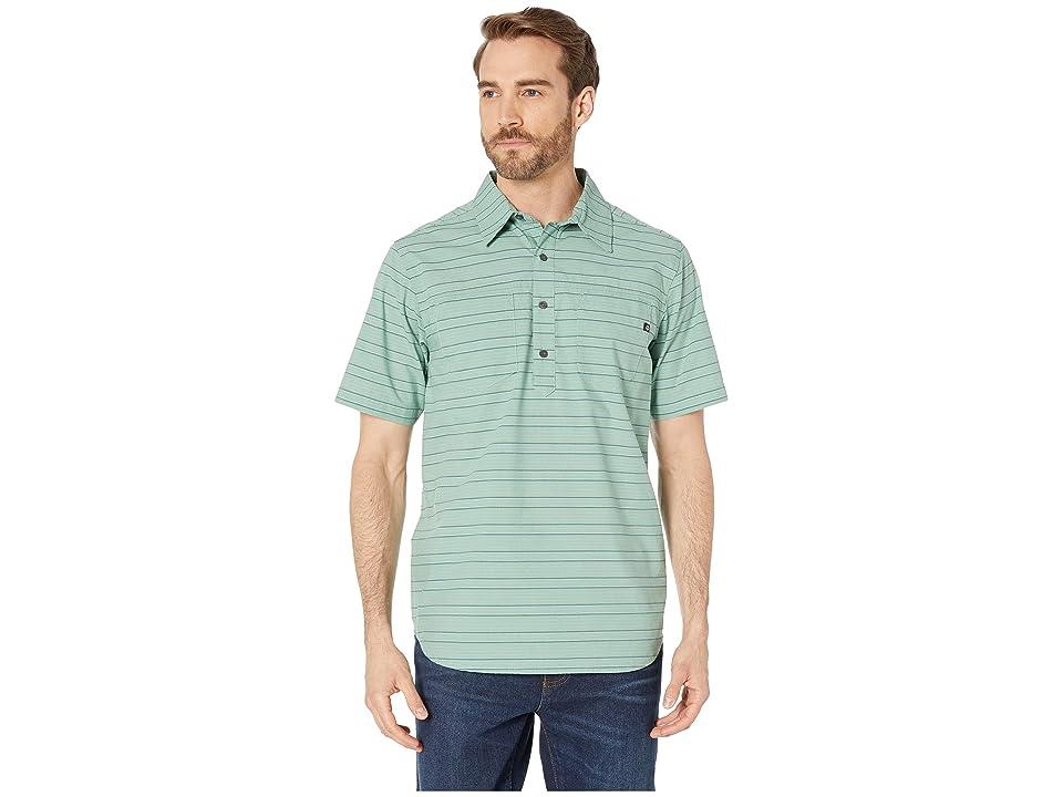Marmot Euclid Short Sleeve Shirt (Pond Green) Men