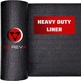 ONREVA Toolbox Drawer Liners, Professional Grade Tool Box Liner 16 inch wide x 16 ft, Rolling Tool Chest Liner Roll Mat, N...