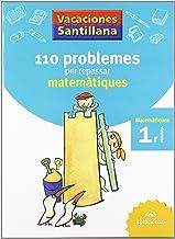 Vacaciónes Santillana 110 Problemes Per Repassar Matematiques 1 PriMaría Amb Solucionari - 9788479182274