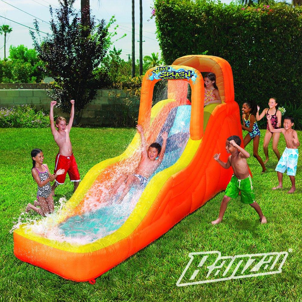 Banzai Wave Splash – Tobogán de agua (al aire libre Patio verano ...