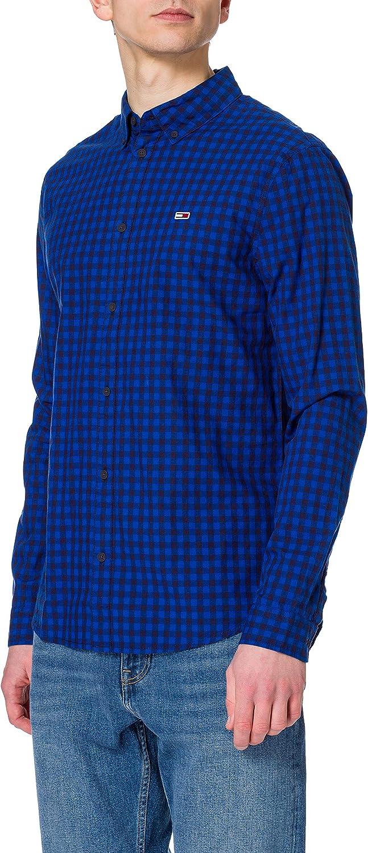 Tommy Jeans Tjm Essential Gingham Shirt Camisa Hombre