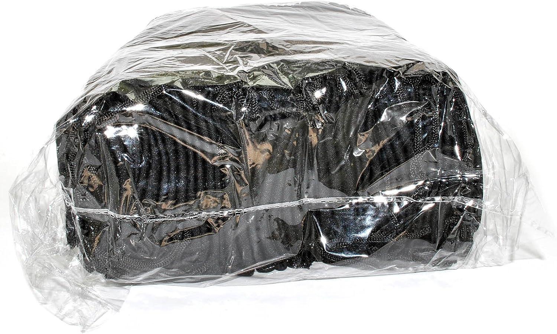 100 PCS Eyeglasses Pouches Case Bag Black