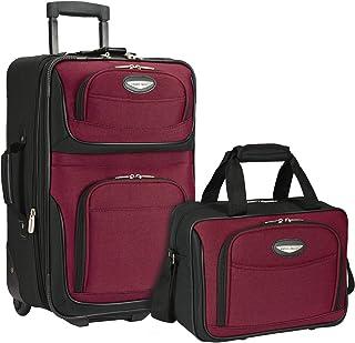 Traveler's Choice Amsterdam Upright Expandable Luggage