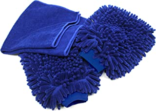 wool car wash mitt
