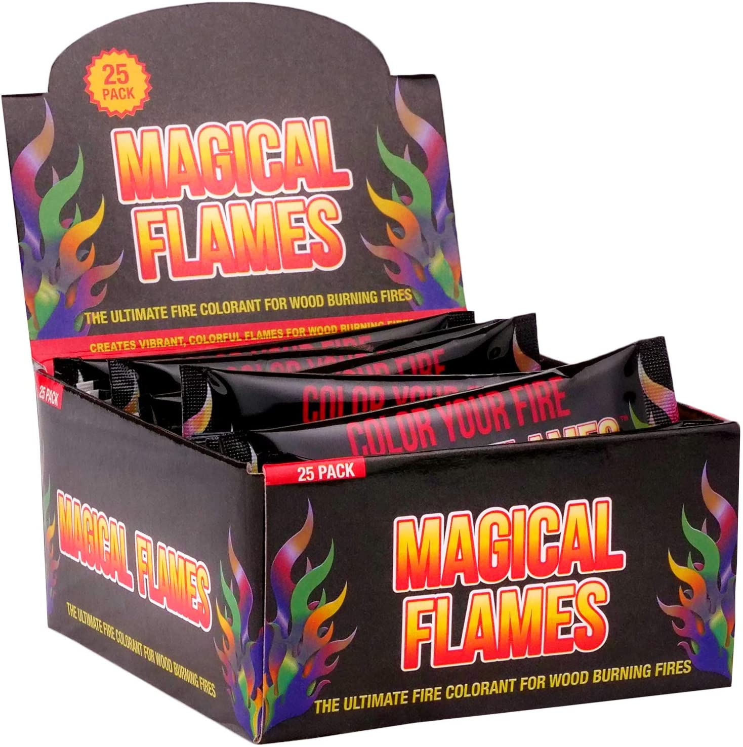 Magical Flames Color-Changing 25 Inexpensive Fireplace 2021 Packets