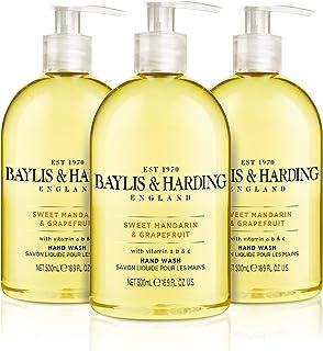 Baylis & Harding Sweet Mandarin & Grapefruit 16.9 Ounces Hand Wash, Pack Of 3