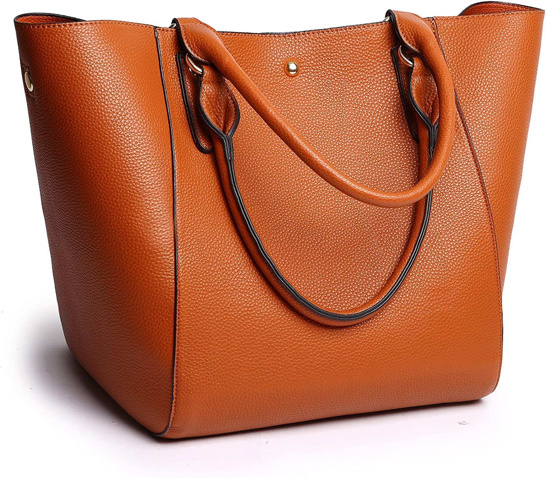 Ephraim Women Tote Bags Top Handle Satchel Handbags PU