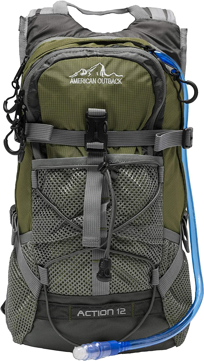 American Outback Chicago Mall Over item handling ☆ Diamond Hydration Backpack