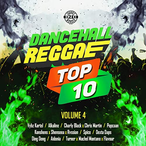 Dancehall Reggae Top 10, Vol  4 [Explicit] by Various on