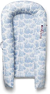 COVER ONLY (Toile de Jouy Dusty Blue) for DockATot Grand Dock - DOCK SOLD