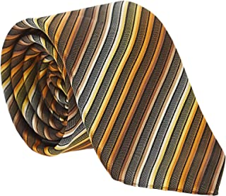 Pierre Cardin Slim Neck Tie for Men - Free Size, Multi Color